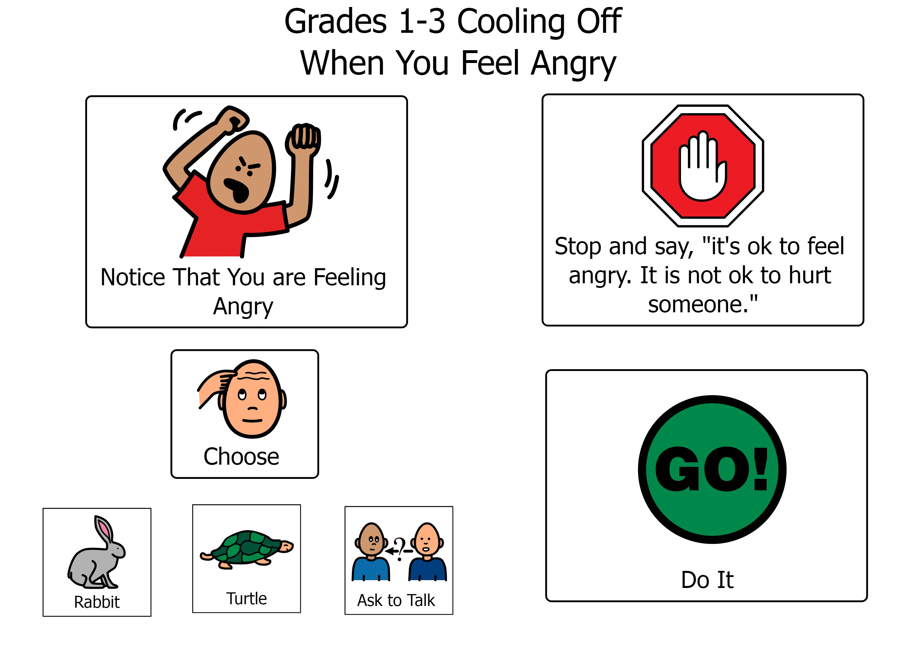 S'cool Moves Grades 1-3 Cooling Off When You Feel Angry