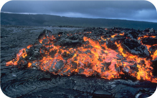 lava will harden into an igneous rock image