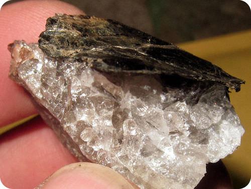 mica schist is a metamorphic rock image
