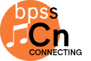 BPSS- connecting music logo